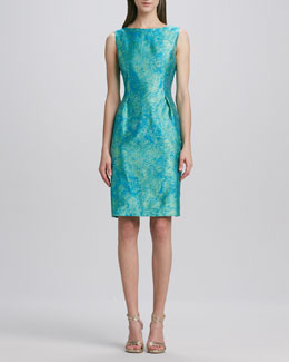 Elie Tahari Holly Jacquard Sheath Dress