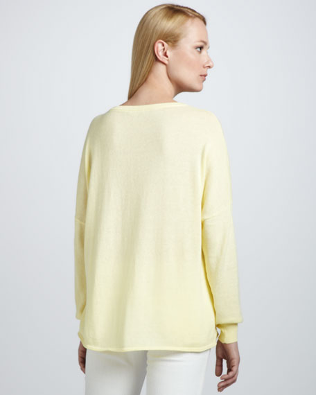 Relaxed Crewneck Pullover
