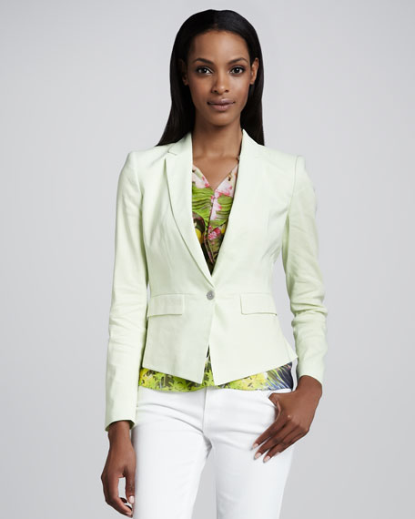 Minka One-Button Jacket