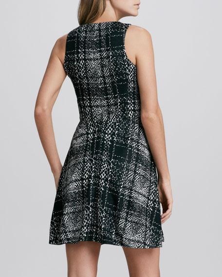 Flirty Plaid A-Line Dress