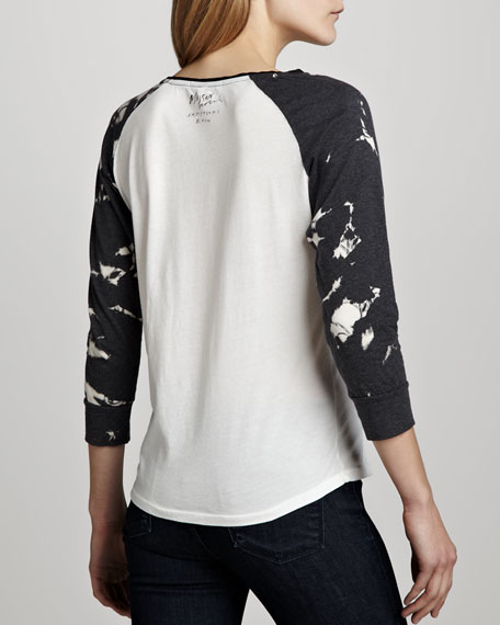 Printed Baseball Tee (Stylist Pick!)