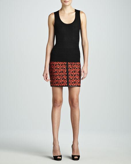 Mosaic Scuba Skirt