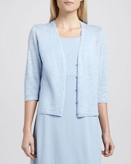 Jersey Knee-Length Oval Dress, Women's