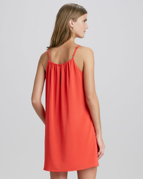 Sisi Sleeveless Trapeze Dress