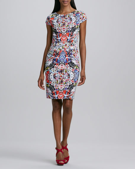 Skyler Printed Dress