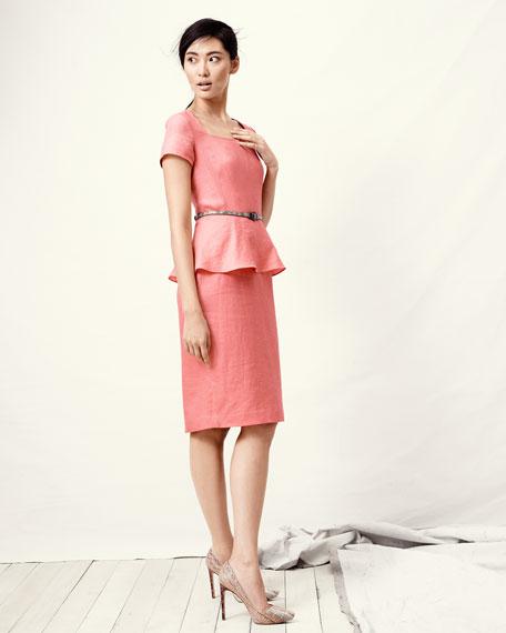 Short Peplum Dress