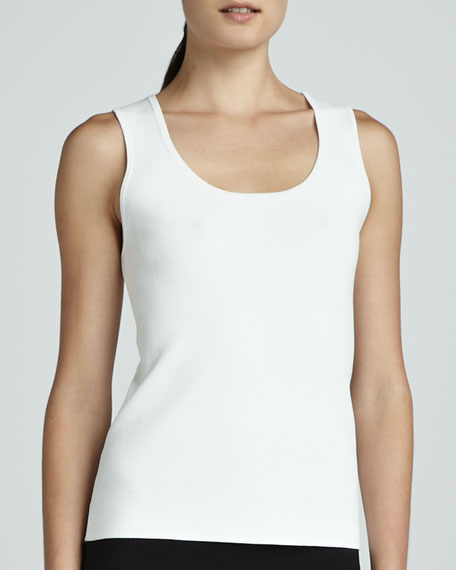 Smooth Scoop-Neck Tank
