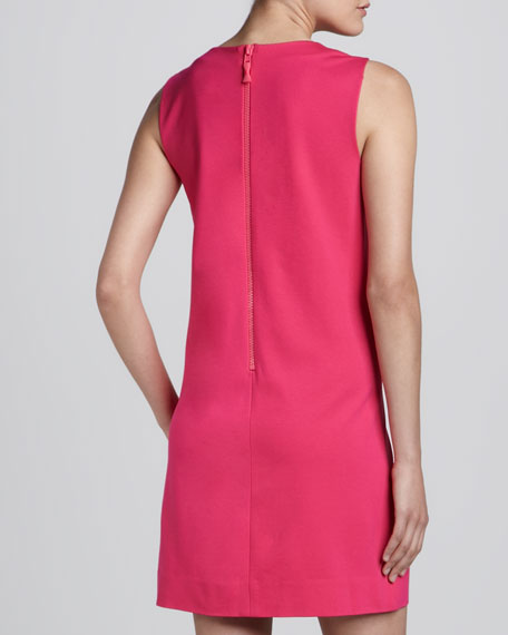 keri sleeveless shift dress