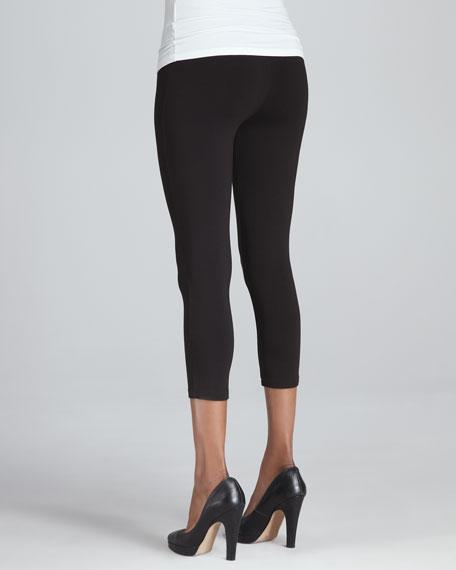 Cropped Jersey Leggings