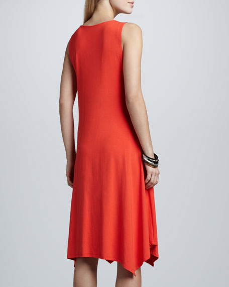 Cowl-Neck Dress, Women's
