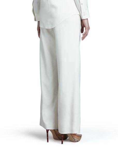 Fuji Silk Full-Leg Pants