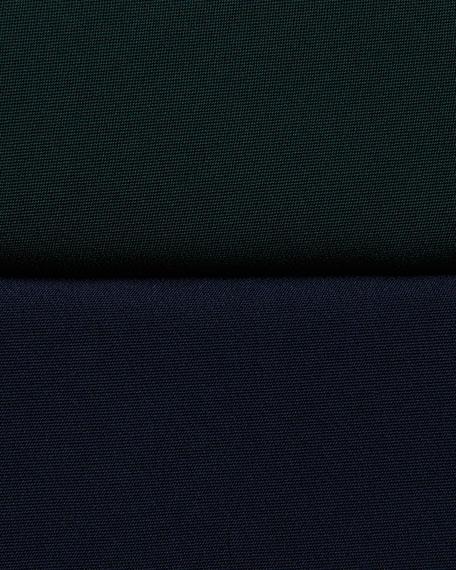 Misty 3/4-Sleeve Boat-Neck Dress