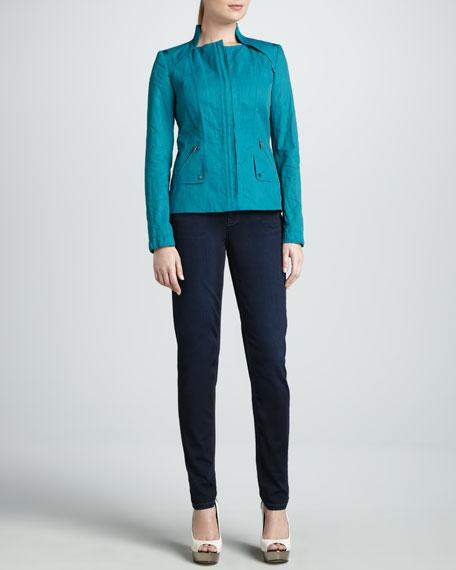 Bianca Slim-Leg Jeans