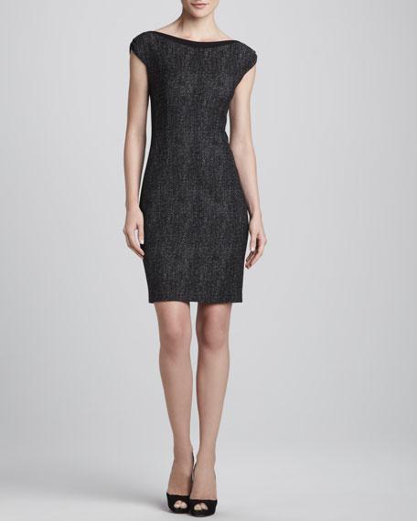 Joselyn Cap-Sleeve Dress