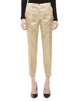 Michael Kors Zebra Brocade Samantha Pants