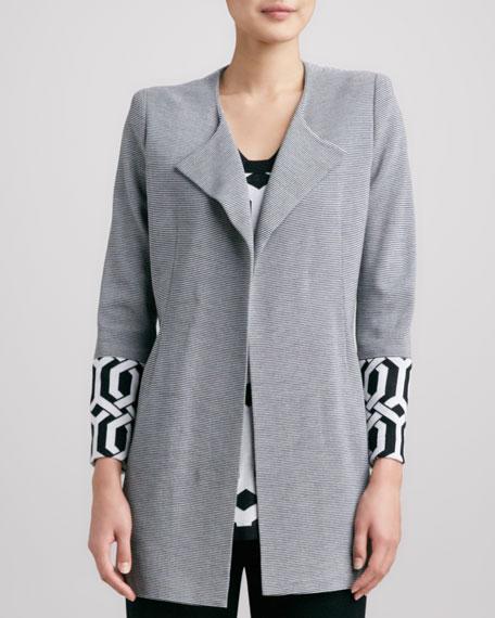 Elsa Trellis-Cuff Coat, Women's