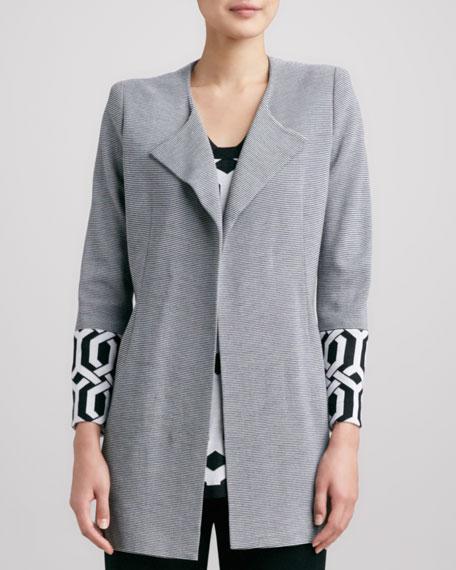 Elsa Trellis-Cuff Coat