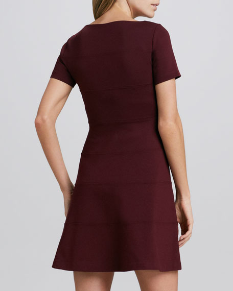 Sienna Knit Flared Dress