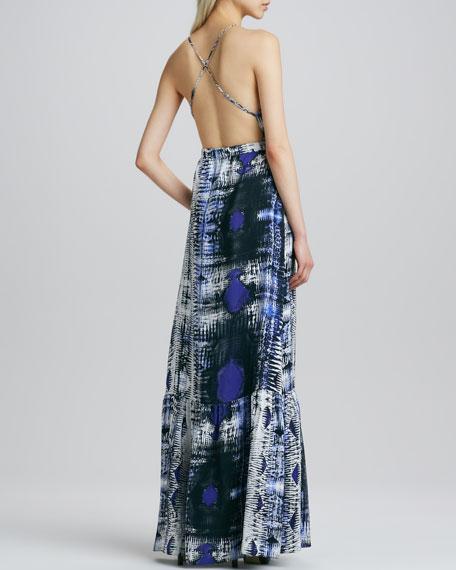 Anna Printed Maxi Dress