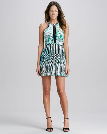 Selita Mix-Print Dress