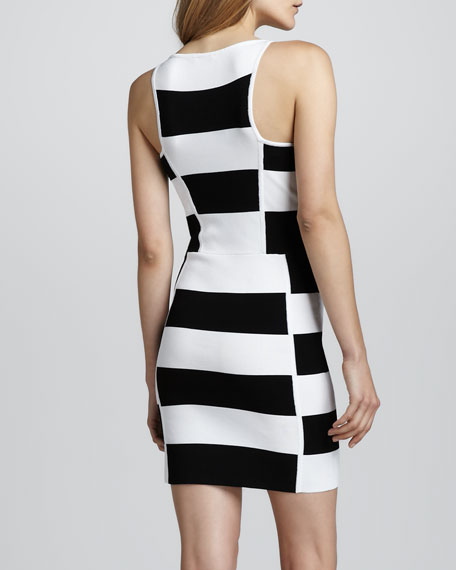Leigha Striped Dress