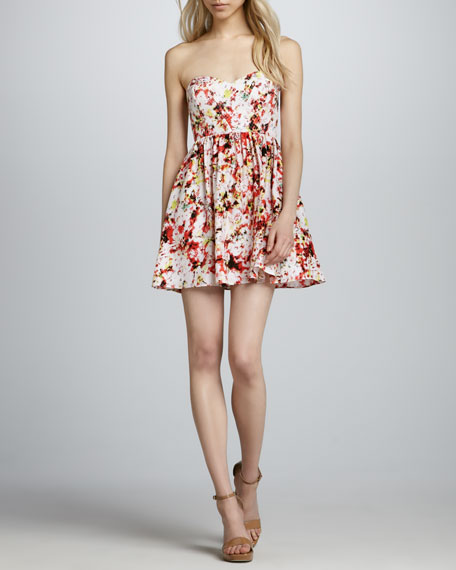 Jenna Strapless Dress