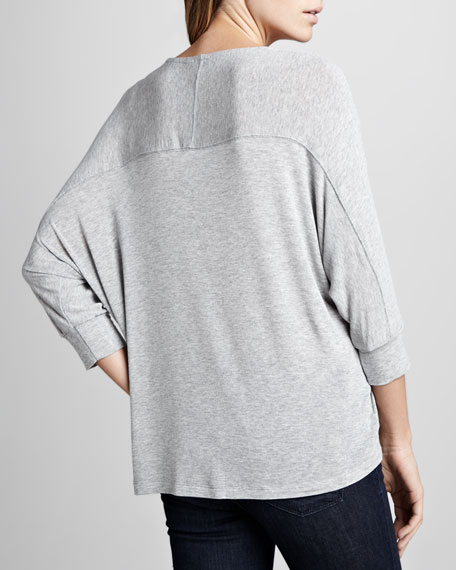 Luxe Loose Jersey Top
