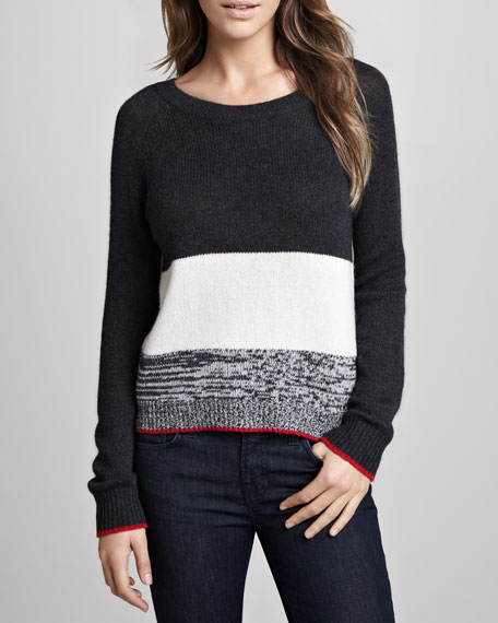 Harley Colorblock Knit Sweater