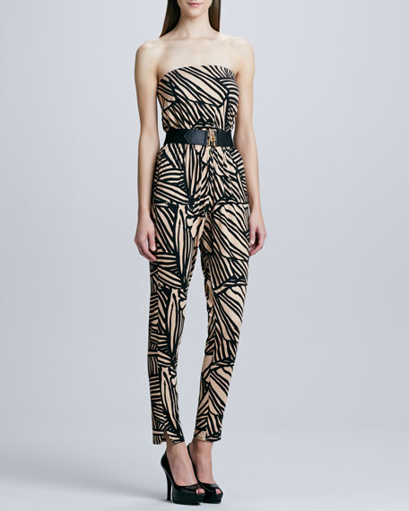 Lennon Printed Jumpsuit, Women's