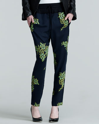 Alak Printed Easy Pants