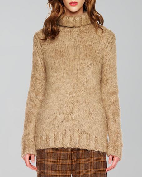 Long-Sleeve Turtleneck Sweater