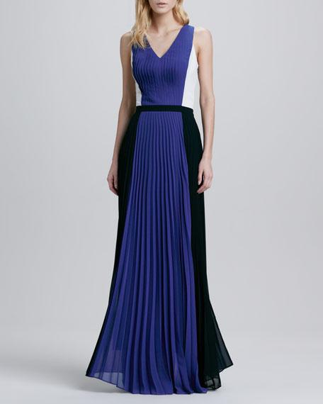 Sevilla Pleated Maxi Dress