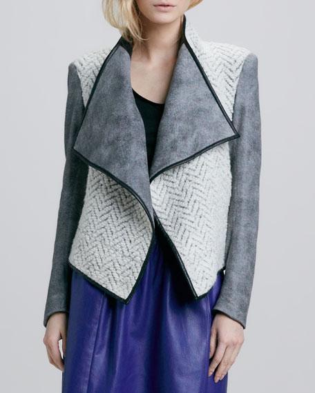 Navarre Mix-Fabric Jacket