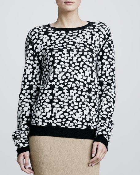 Tatum Printed Pullover Sweater