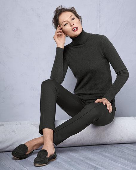 Cashmere Long-Sleeve Turtleneck, Women's