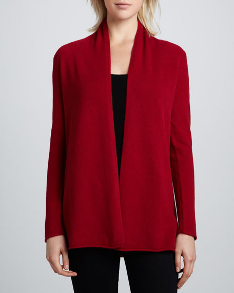 Draped Cashmere Cardigan, Women's