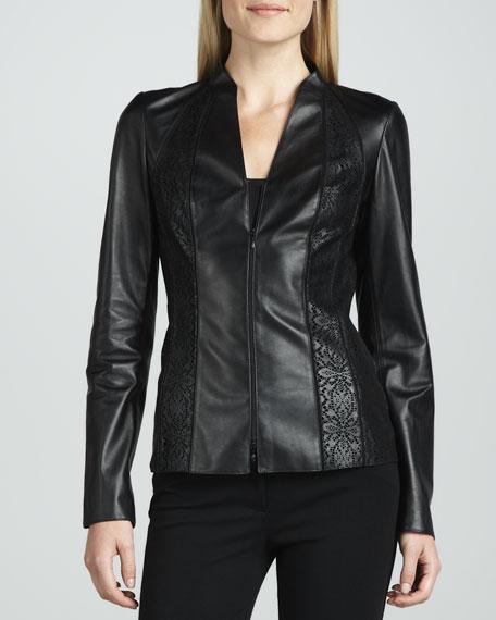 Tara Lambskin Jacket