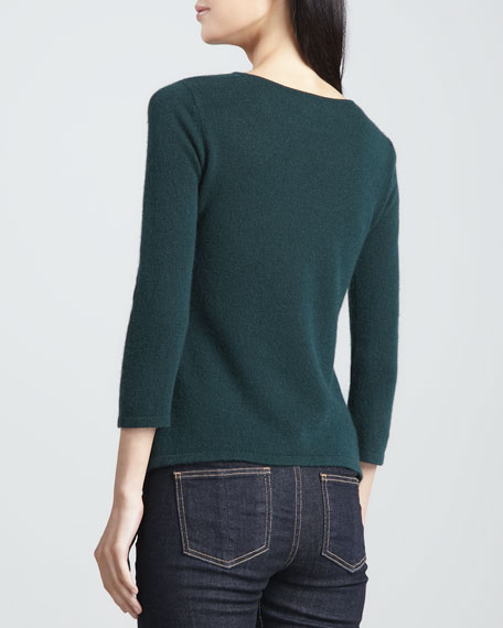Cashmere Cowl-Neck Sweater, Women's