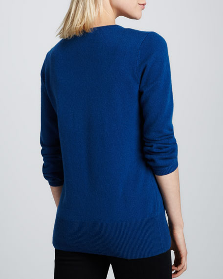 Oversized Cashmere V-Neck Sweater