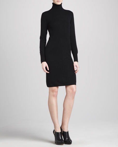 Turtleneck Cashmere Dress