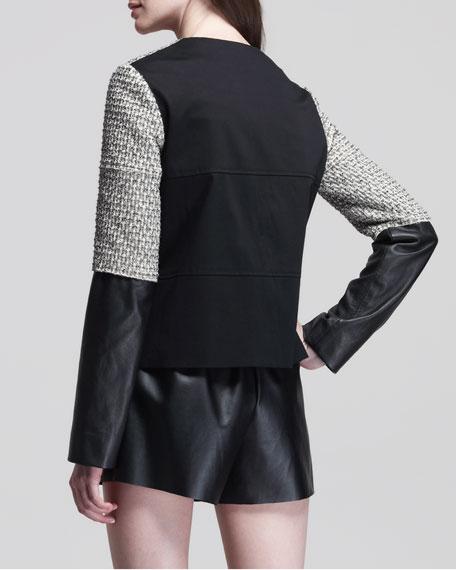 Four-Pocket Paneled Jacket
