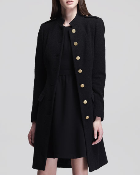 Honoria Belted Overcoat