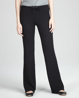 Splendid Wide-Leg Drawstring Pants