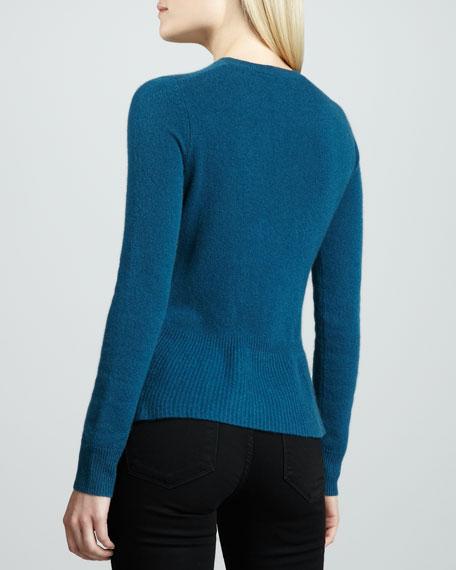 Cashmere Peplum Sweater