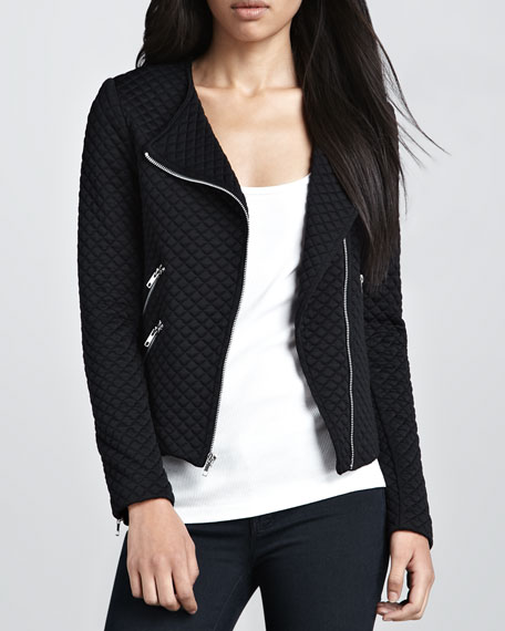 Duncan Quilted Moto Jacket