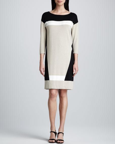 Colorblock Tunic Dress