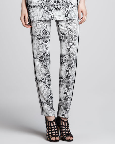 Griswold Printed Straight-Leg Pants