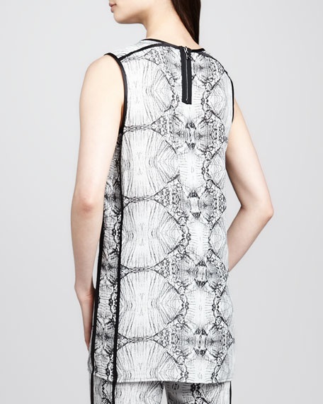Ranjini Printed Sleeveless Tunic