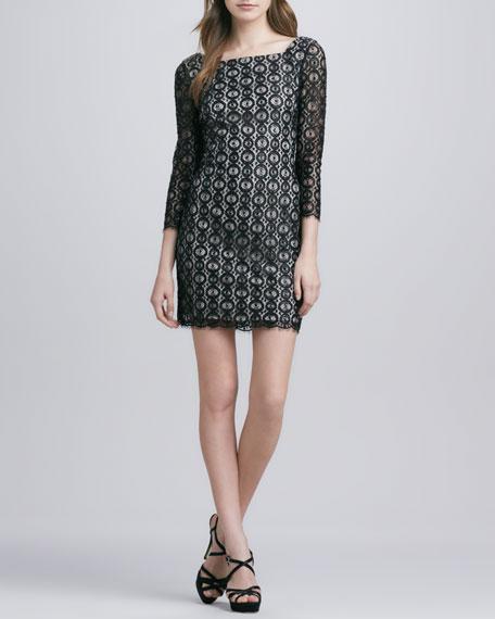 Zarah Beaded Lace Dress