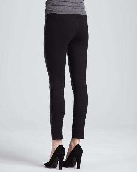 Karen Leather Stretch Pants